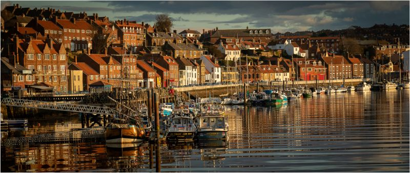 Ian Hardacre Whitby in the evening